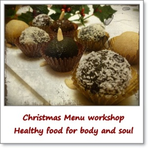 Christmas Menu workshop
